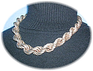 Sterling SilverChunky Signed & Gradualed Rope (Image1)