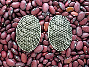 Sterling Silver Signed JOHN HARDY Clip Earrings (Image1)