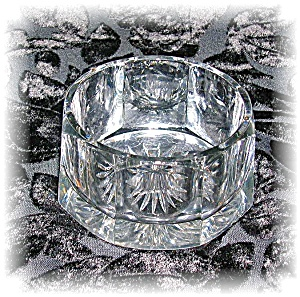 HEISEY CUT GLASS BOWL OCTAGON - SUGAR?? (Image1)