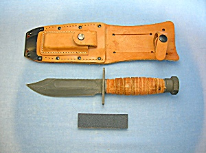 Ontario, Knife, Hunting, Sheathed, Surviva, Pilot  . . (Image1)