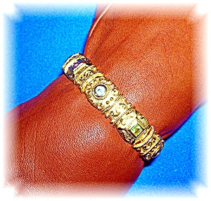 Bracelet Gold Vermeil Sterling Silver Jewels (Image1)