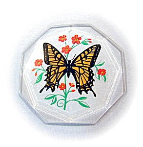 LUCITE SUN CATCHER - MONARCH BUTTERFLY (Image1)