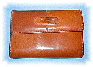 Fold Out Tan FOSSIL Wallet (Image1)