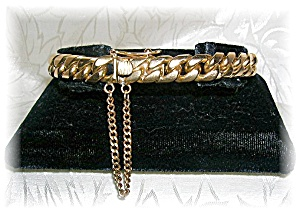 Bracelet 18K Yellow Gold Curb Link 61 grams.. (Image1)