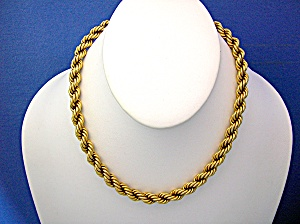 Necklace14K Yellow Gold Heavy Rope 44.7 grams (Image1)