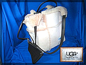 Bag UGG Suede Shearling  Australia Pink Tan (Image1)