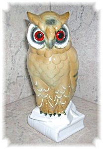 PORCELAIN OWLS MADE IN WESTERN GERMANY (Image1)