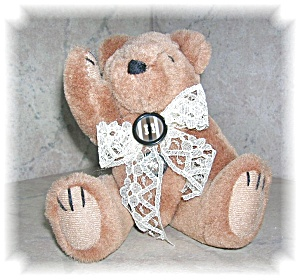 STOKE-ON-TRENT JOINTED TEDDY BEAR (Image1)