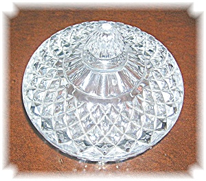 PRESSED GLASS CANDY DISH (Image1)