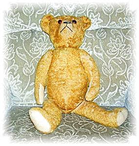 LARGE OLD MOHAIR BEAR (Image1)
