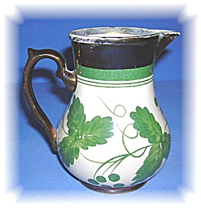 WADE COPPER LUSTER HARVEST WARE CREAMER - UK (Image1)