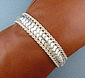Bracelet 18K Yellow Gold Rope Flex  (Image1)