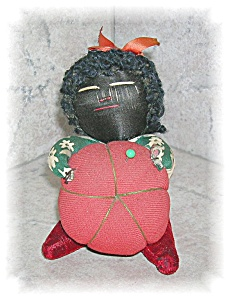 PIN CUSHION, BLACK AMERICANA......... (Image1)