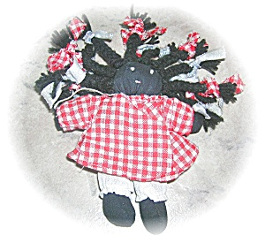 HAND MADE BLACK AMERICANA DOLL.... (Image1)