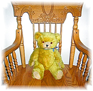 ANTIQUE JOINTED MOHAIR TEDDY BEAR (Image1)