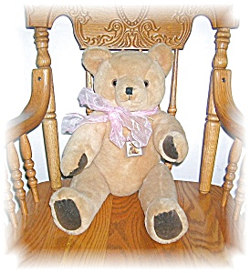 20 Inch GOLDEN VINTAGE TEDDY BEAR (Image1)