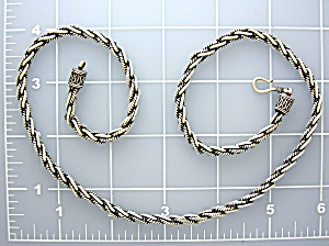 Sterling Silver 22 inch chain 60 grams Hook Clasp (Image1)