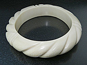 Bone Carved Bracelet