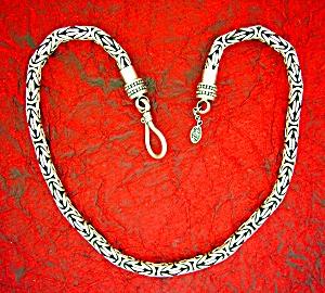 Sterling Silver MILO Bizantine Chain 101.6 grams (Image1)