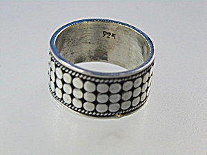 Sterling Silver John Hardy Design Ring (Image1)