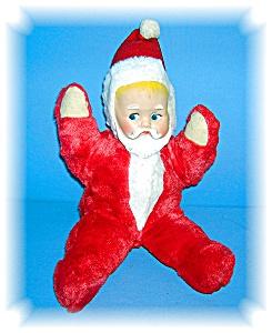 VINTAGE PLUSH BABY SANTA CLAUS.... (Image1)