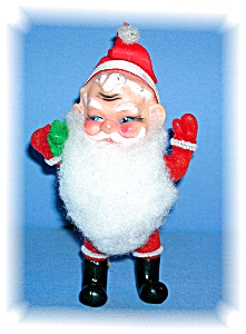 5 1/2 INCH RUBBER FACED VINTAGE ORNAMENT.... (Image1)