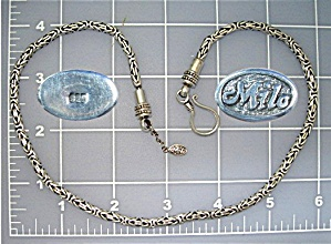 Necklace Sterling Silver Hook Clasp MILO  Bali (Image1)