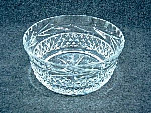 Galway Irish Crystal 6 inch bowl Leah  (Image1)