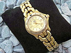 Tag Huer Ladies Gold Wristwatch