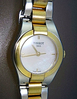 Tissot 1853 Sapphire Crystal Stainless & Gold Wristwatc