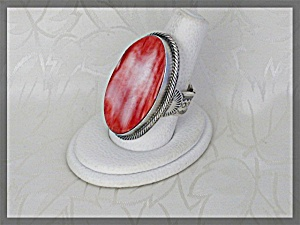Ring Spiny Oyster Sterling Silver Gigned Ihmss