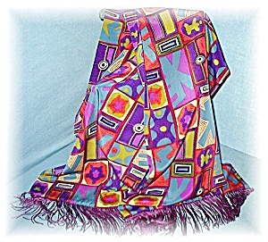 Fabulous 84 Inch Colorful Evening Stole (Image1)