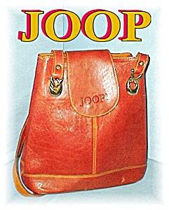 Large Golden Leather Designer JOOP Handbag (Image1)