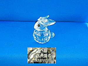 Swarovski Crystal Bunny Rabbit - Large 7652 NR 45 (Image1)