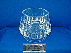 Waterford small footed  bowl or candle holder (Image1)