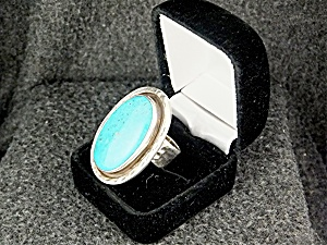 Starborn Sterling Silver Bisbeeturquoise Ring