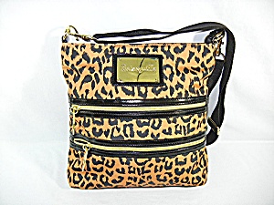 Bag Purse BETSEYVILLE Black Leopard Print (Image1)