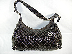 Bag Purse Brighton Hobo Black Leather Dust Bag (Image1)