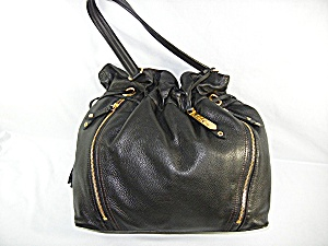 Bag Purse Cole Hahn Black Leather Dust Bag (Image1)