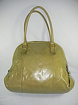 Bag Bag Hobo International Olive Green Leather Large