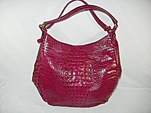 Bag Brahmin Melbourne Handbag Burgandy Tote