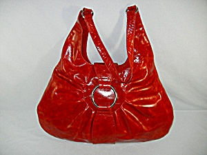 Bag Purse Red leather  By Latico  (Image1)