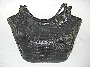 Bag Brahmin Melbourne Hobo Black  (Image1)
