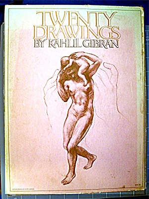 Twenty Drawings By Kahlil Gibran (Hardcover) (Image1)