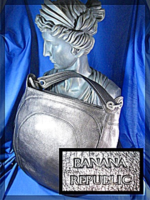 Bag Banana Republic Gold Pebble Leather (Image1)