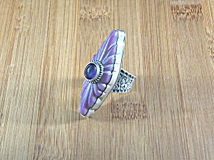 David Troutman & GUNDI  Damsonite Amethyst Sterling Sil (Image1)