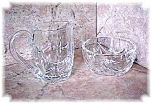 WATERFORD CRYSTAL SUGAR AND CREAMER...... (Image1)