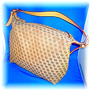 DOONEY AND BOURKE HANDBAG PURSE DUFFLE BAG (Image1)
