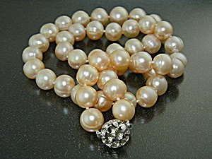Freshwater Pearls 18 Inch Necklace 9mm 18 Inch