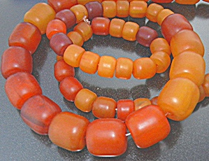 Copal Amber Graduated 32 inch Necklace  (Image1)